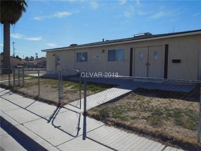 Las Vegas Single Family Home For Sale: 1100 Freeman Avenue