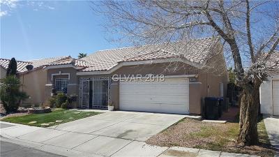 Las Vegas NV Single Family Home Contingent Offer: $179,900