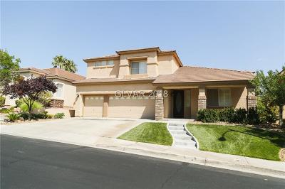 Henderson NV Single Family Home For Sale: $579,999