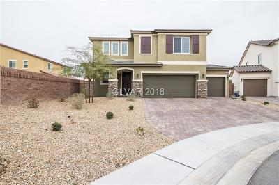 North Las Vegas Single Family Home For Sale: 4004 Elegant Alley Court