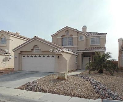 North Las Vegas Single Family Home For Sale: 3416 Capitol Reef Drive