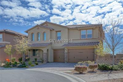 Las Vegas Single Family Home For Sale: 12249 Cape Cortez Court