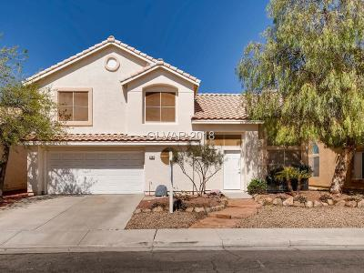 Henderson Single Family Home Contingent Offer: 3222 Hidden Falls Way