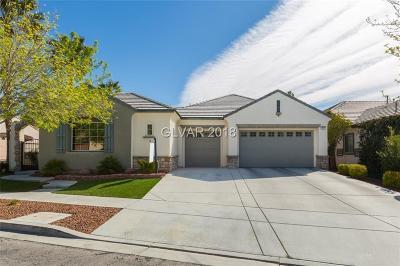 Las Vegas Single Family Home For Sale: 1856 Grovespring Street