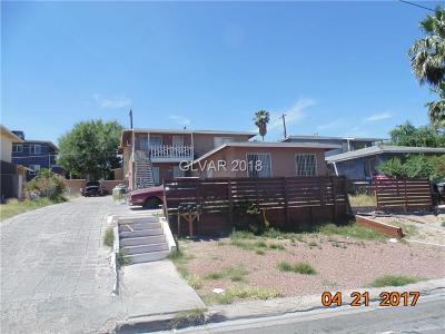 Henderson, Las Vegas Multi Family Home For Sale: 395 North 14th Street