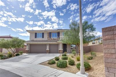 Henderson NV Single Family Home For Sale: $515,000