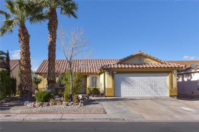 North Las Vegas Single Family Home For Sale: 2210 Logsdon Drive