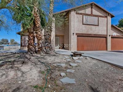 Las Vegas Single Family Home For Sale: 6876 Stewart Avenue
