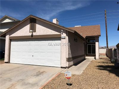 Las Vegas Single Family Home Contingent Offer: 4178 Tolkien Avenue