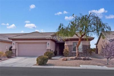 Las Vegas Single Family Home For Sale: 3787 Budenny Drive