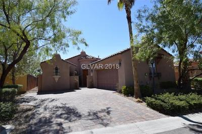 Blue Diamond, Boulder City, Henderson, Las Vegas, North Las Vegas, Pahrump Single Family Home Contingent Offer: 33 Avenza Drive