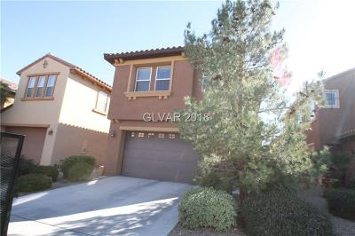 Las Vegas Single Family Home Contingent Offer: 335 Trailing Putt Way