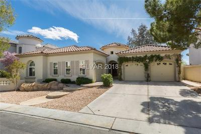 Las Vegas Single Family Home For Sale: 57 Dollar Pointe Avenue