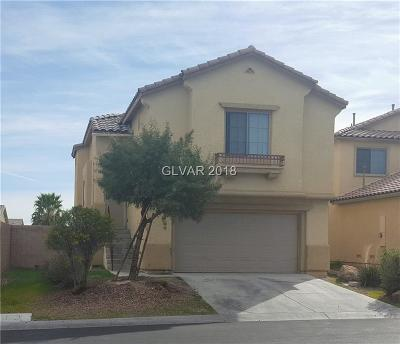 North Las Vegas Single Family Home For Sale: 3532 Quiet Pueblo Street
