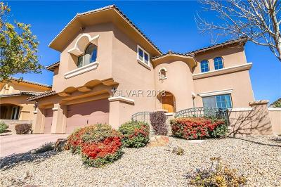 Las Vegas Single Family Home For Sale: 12130 Highland Vista Way