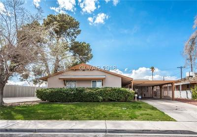Las Vegas Single Family Home For Sale: 205 Pomegranate Circle