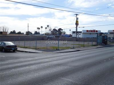 North Las Vegas Residential Lots & Land For Sale: 1612 Civic Center Drive