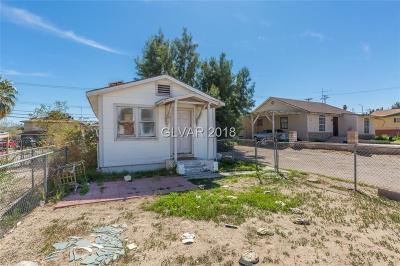 Las Vegas Single Family Home For Sale: 1718 Marlin Avenue