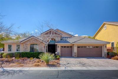 Las Vegas Single Family Home For Sale: 7217 New Hampton Street