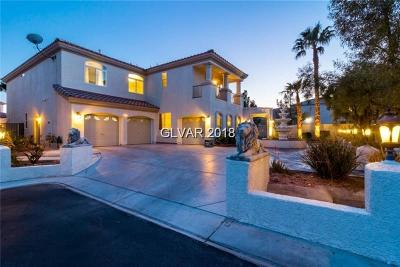 Las Vegas Single Family Home For Sale: 11 Living Edens Court