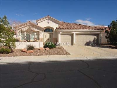 Las Vegas Single Family Home For Sale: 10622 Piombino Street