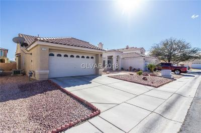 North Las Vegas Single Family Home For Sale: 1925 Grand Prairie Avenue