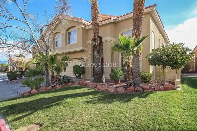 Las Vegas Single Family Home For Sale: 2120 Crooked Pine Drive