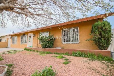 North Las Vegas Single Family Home For Sale: 2520 East Lincoln Avenue