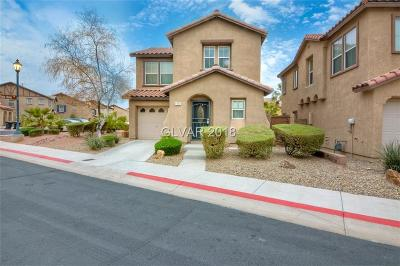 Henderson Single Family Home Contingent Offer: 1177 Paradise Safari Drive