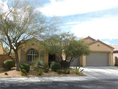 North Las Vegas Single Family Home For Sale: 7417 Eggshell Drive