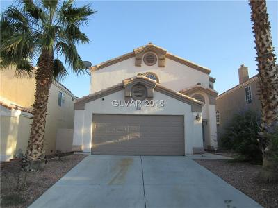 Las Vegas Single Family Home For Sale: 8221 Ogee Drive