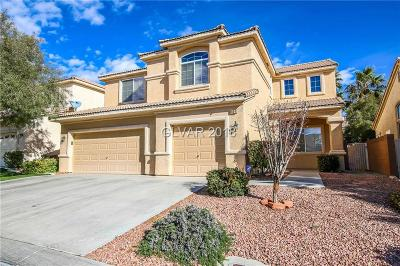 Las Vegas Single Family Home For Sale: 5854 Farmhouse Court