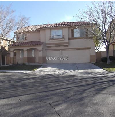 Las Vegas Single Family Home For Sale: 7965 Lapis Harbor Avenue