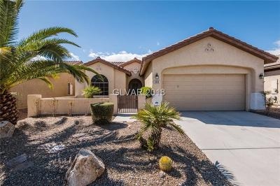 Las Vegas Single Family Home For Sale: 3689 Tack Street