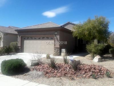 Henderson Single Family Home For Sale: 2574 Stardust Valley Drive