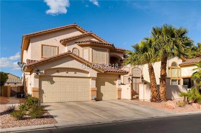 Las Vegas Single Family Home For Sale: 5440 San Florentine Avenue