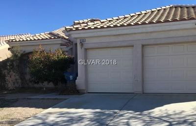 Las Vegas Single Family Home For Sale: 9165 Rochelle Avenue