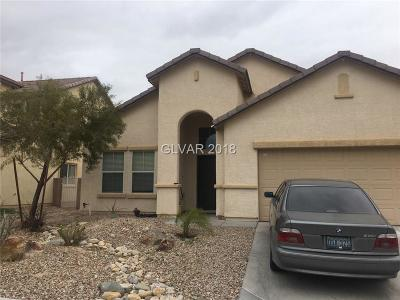 North Las Vegas Single Family Home Contingent Offer: 3630 Calendula Canyon Court