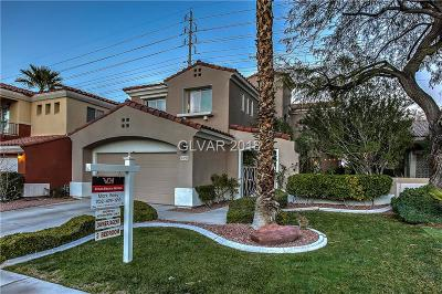 Las Vegas Single Family Home For Sale: 1612 Estrella Street
