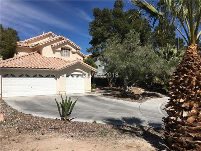 Las Vegas Single Family Home For Sale: 6336 Cedar Grove Circle
