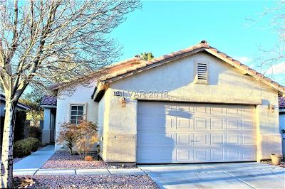 Las Vegas Single Family Home For Sale: 8592 Blowing Pines Drive