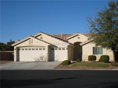 North Las Vegas Single Family Home For Sale: 3908 Ratite Way