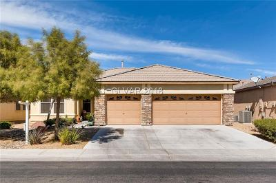 North Las Vegas Single Family Home For Sale: 1924 Gentle Bluff Court