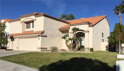 Las Vegas Single Family Home For Sale: 2732 Dune Cove Road