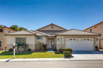 North Las Vegas Single Family Home For Sale: 1731 Bluff Hollow Place