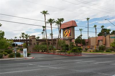 Las Vegas NV Condo/Townhouse For Sale: $100,000