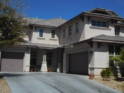 North Las Vegas Single Family Home For Sale: 2628 Slide Canyon Avenue