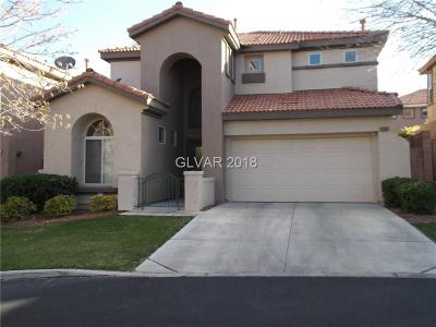 Las Vegas Single Family Home For Sale: 10867 Vista Marbella Avenue