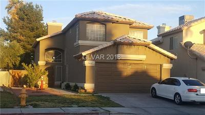 Las Vegas Single Family Home For Sale: 2258 Bowstring Drive