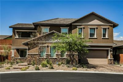 Las Vegas Single Family Home For Sale: 5523 Kyle Peak Court